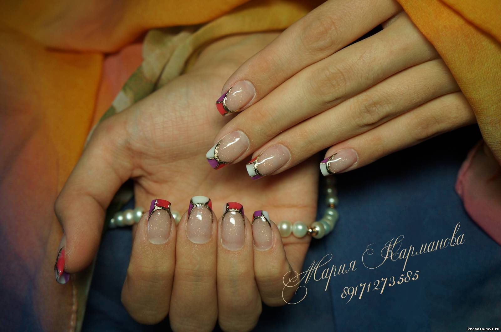 Нарощенные ногти фото красивые одним цветом